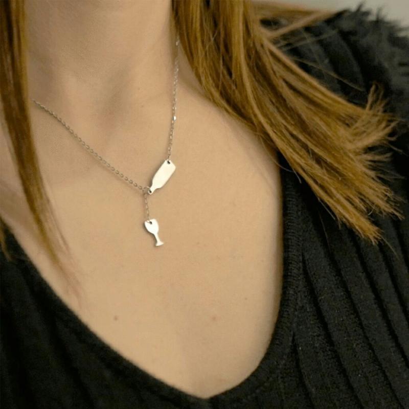 Multicouche collier tour de cou étoile Lune Cristal Strass Collier Pendentif Tour de cou