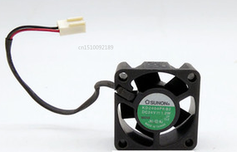 Free Shipping 24V 1.2W KD2404PKB2 4CM 4020 Two-wire Silent Cooling Fan