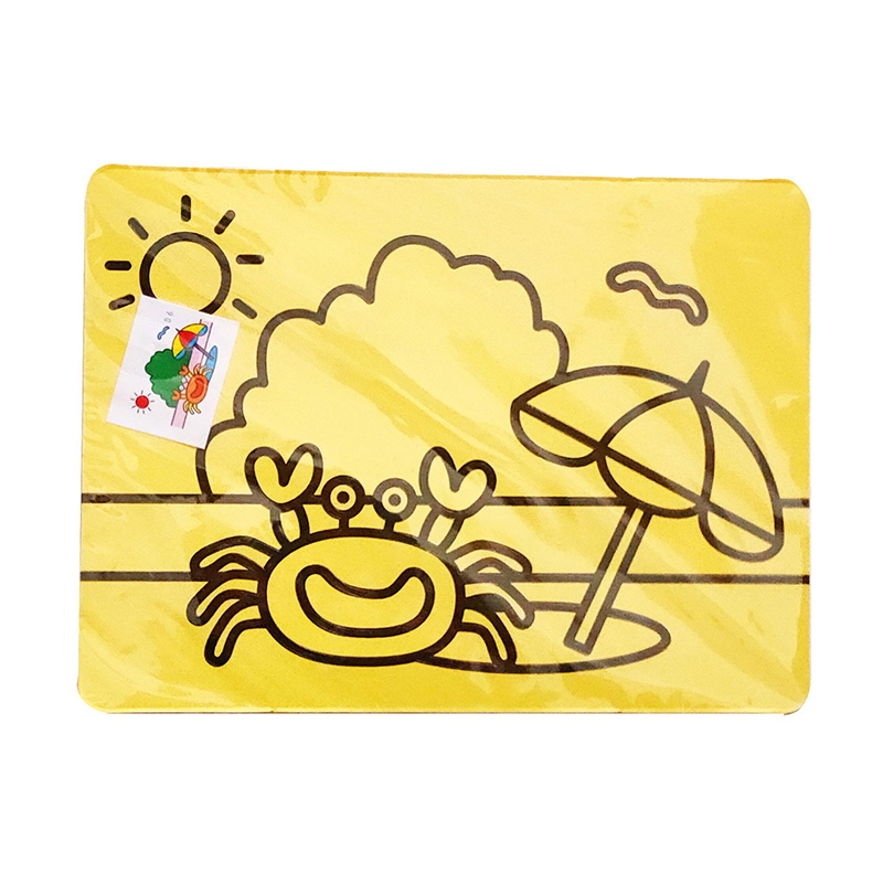 10pcs/Lot Cute Colorful Kids Drawing Toys Sand Painting Images Diy Craft Education Toy For Kid Diy Education Toy Sand @M23