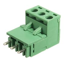 10Pcs 5.08mm Pitch 3Pin Plug-in Screw PCB Terminal Block Connector Right Angle цены