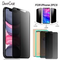 3D Anti Spy Peep Privatsphäre Gehärtetem Glas Für iPhone 11 12 Pro XS Max XR X Screen Protector für iPhone 7 8 6 6S Plus SE Film