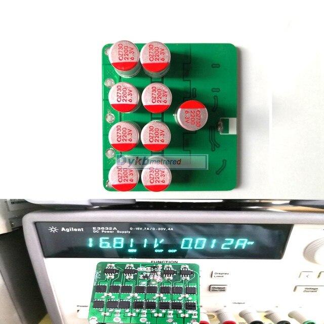 Equalizador ativo 3s 4S 5S, 6s, 7s, 8s, 6a, lifepo4, lítio, bateria de lipo, transferência de energia placa de proteção bms