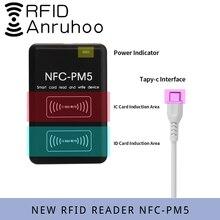 Lector de tarjetas de Control de acceso RFID, nuevo NFC-PM5, decodificación de cifrado, duplicador, Chip inteligente S50 UID, copiadora de frecuencia ICID