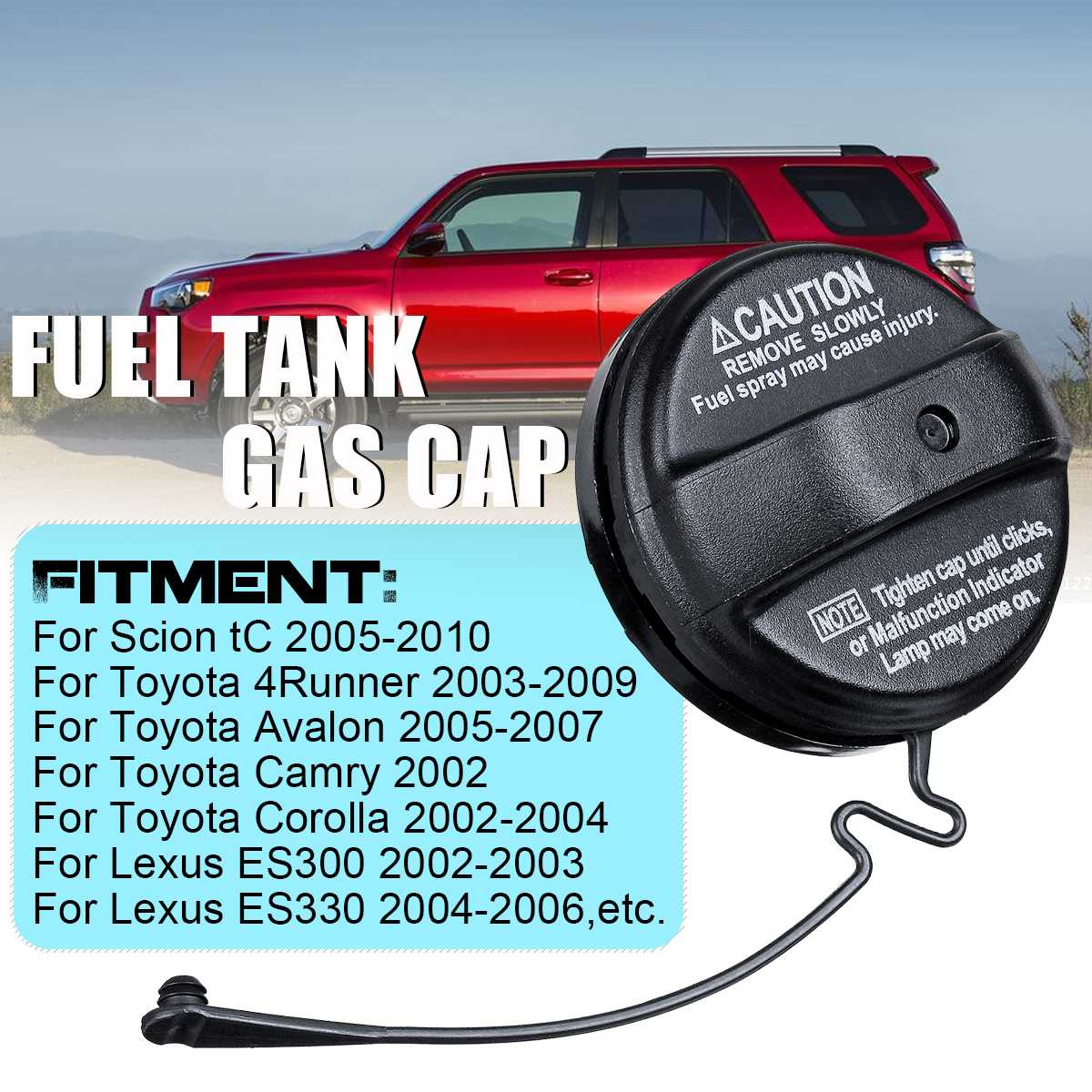 New Fuel Tank Gas Cap 77300-33070 For Toyota Corolla 4Runner Avalon Camry Highlander For Lexus For Scion