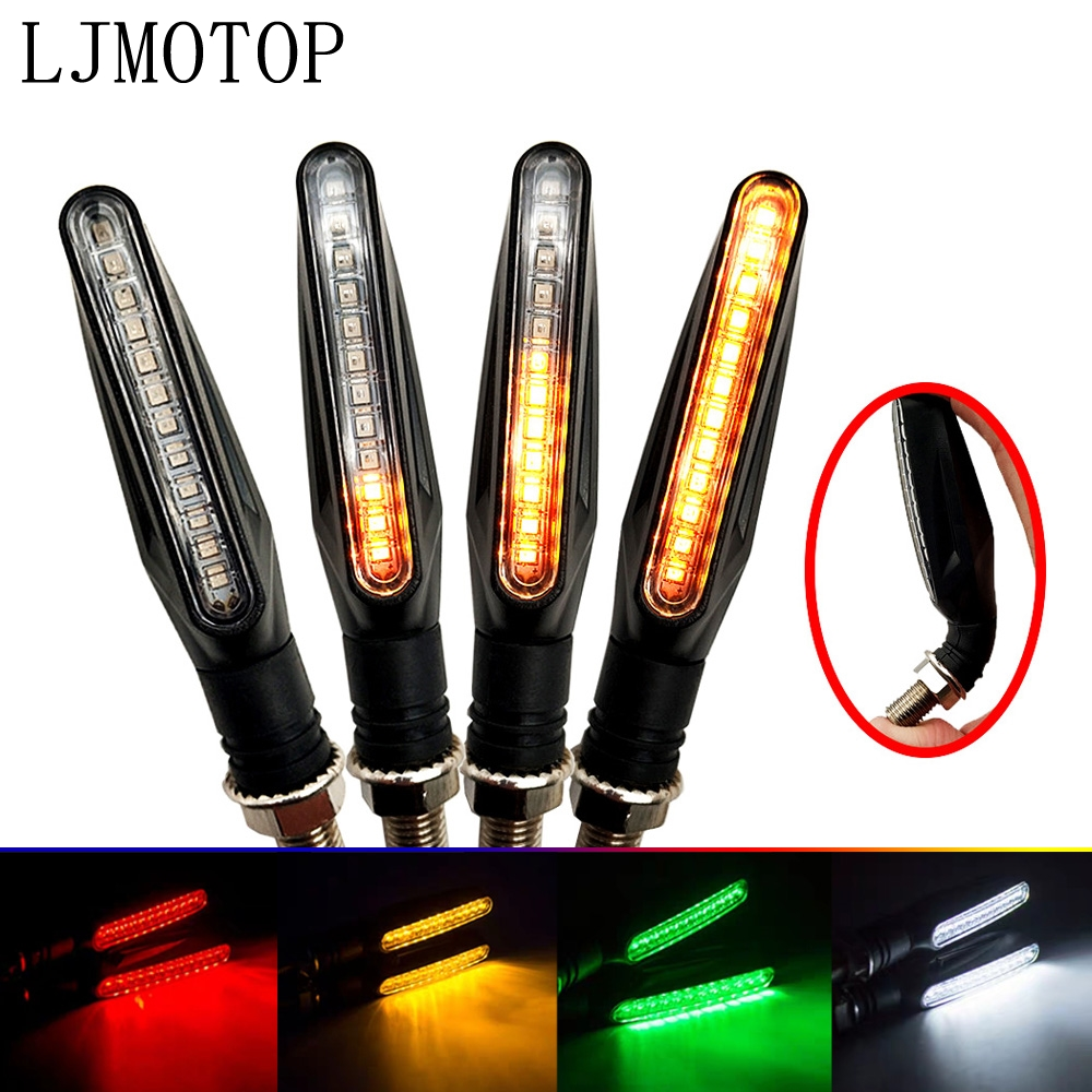 LED Motorcycle Turn Signal Lights Flashing Signal Lamp Accessories For YAMAHA MT-01 R6S CANADA VERSION R6S EUROPE VERSION
