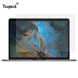 Anti brilho protetor de tela do portátil fosco filme protetor de tela lcd para apple macbook pro 13.3 polegada a1706/a1708/a1989 13.3 (2 pces)