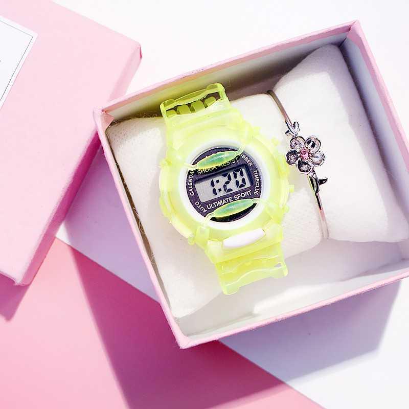 Cartoon Wristwatch Children Watch Kids Watches Silicone Baby Toy Watch Cute Simple Waterproof Electronic Watch Clothing Drop