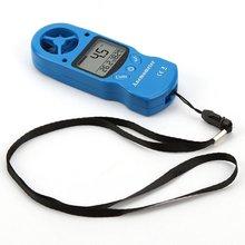 Mini Mehrzweck Anemometer Digital-Anemometer LCD TL-300 Wind Geschwindigkeit Temperatur Feuchtigkeit Meter mit Hygrometer Thermometer cheap ACEHE CN (Herkunft) 200N