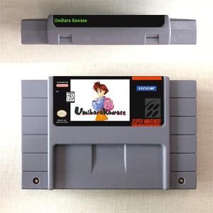 Image 1 - Umihara Kawase Rpg Game Card Us Version Engels Taal Batterij Besparen