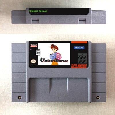 Umihara Kawase Rpg Game Card Us Version Engels Taal Batterij Besparen