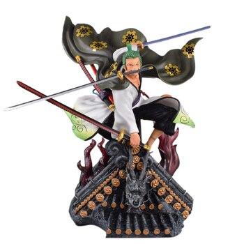 Figura de Zorro en un tejado de Wano(50cm) Figuras de One Piece Merchandising de One Piece