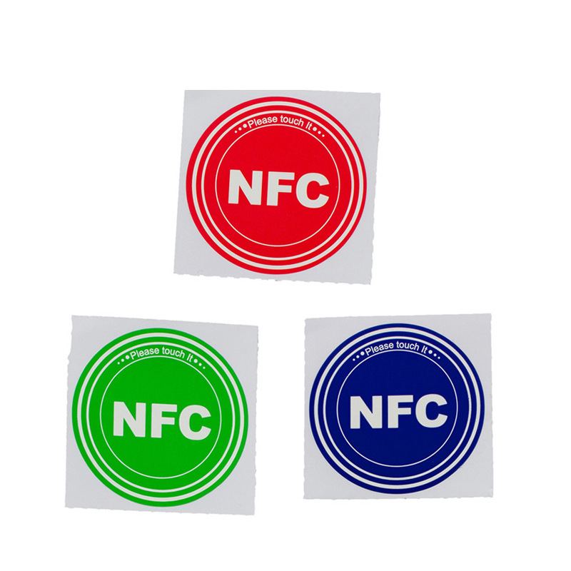 RFID Supply Self-adhesive NFC Electronic Tag NTAG213 High Frequency Chip Anti-theft Sticker