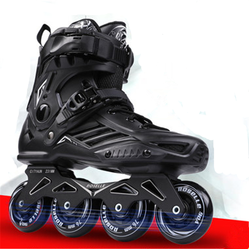 Skates Adult Inline Men And Women Roller Shoes Club Flat Shoes Adult Professional Fancy Roller Skates Flash