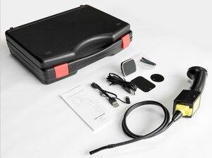 Image 3 - 180/360 درجة تدوير المنظار كاميرا HD Borescope صغيرة 8 مللي متر USB سيارة بعدسة مزدوجة الأنابيب التفتيش كاميرا أندرويد نوع C الهاتف