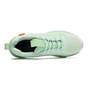 Image 5 - 46 męskie buty do biegania 2020 wiosna nowe męskie tenisówki miękkie siatkowe obuwie oddychające modne czarne buty sportowe obuwie zimowe męskie