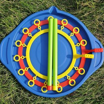 2020 ABS toys for children Magic Big Bubble Ring (Bubble Show Props Without Water) Giant Wand Set burbujas