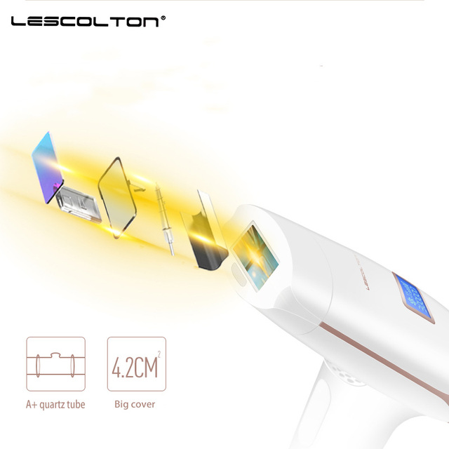 Lescolton 3in1 700000 pulsed IPL Laser Hair Removal Device Permanent Hair Removal IPL laser Epilator Armpit Hair Removal machine 1
