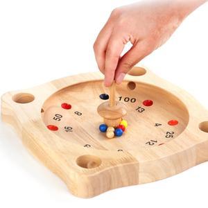 Juego de tablero de madera con brújula para niños, juego educativo interactivo de viaje, juego de mesa, regalo de entretenimiento para padres e hijos
