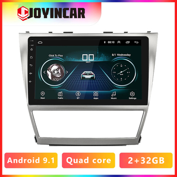 JOYINCAR 10.1 1024*600 Android 9.1 For Toyota Camry 40 2007-2011 Car DVD Player GPS WIFI BT Radio Stereo Audio Video Multimedia image