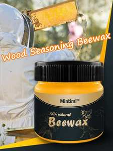 Furniture Polishes Beeswax Wood-Cabinets Cleans-Wood Natural-Shine-D Beewax-Solution
