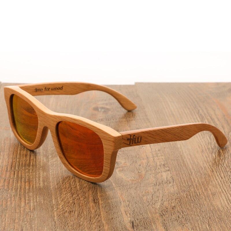 Винтаж деревянные бамбуковые солнечные очки, мужские Для женщин Поляризованные очки ручной работы с Чехол UV400 Ретро 2020 новый дизайн очки