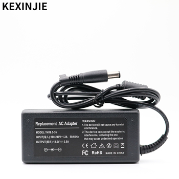 18.5V 3.5A AC Adapter Power Supply Charger for HP Pavilion G6 G56 CQ60 DV6 G62 G70 G71 G72 2133 2533t 530 510 2230s 7.4*5.0mm image