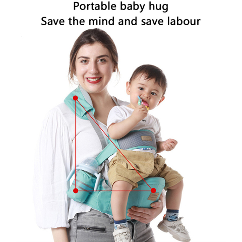 portador de bebe mochila multifuncional portatil para infantil frente do bebe enfrentando envoltorio do bebe