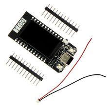 Ttgo t display esp32 placa de desenvolvimento wifi e módulo bluetooth 1.14 Polegada lcd para arduino