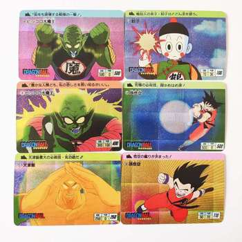 18pcs/set Super Saiyan Plot Heroes Battle Goku Vegeta Hobby Collectibles Game Anime Collection Cards 12pcs set saint seiya solid gold soul dragon ball super saiyan goku hobby collectibles game collection anime cards limit
