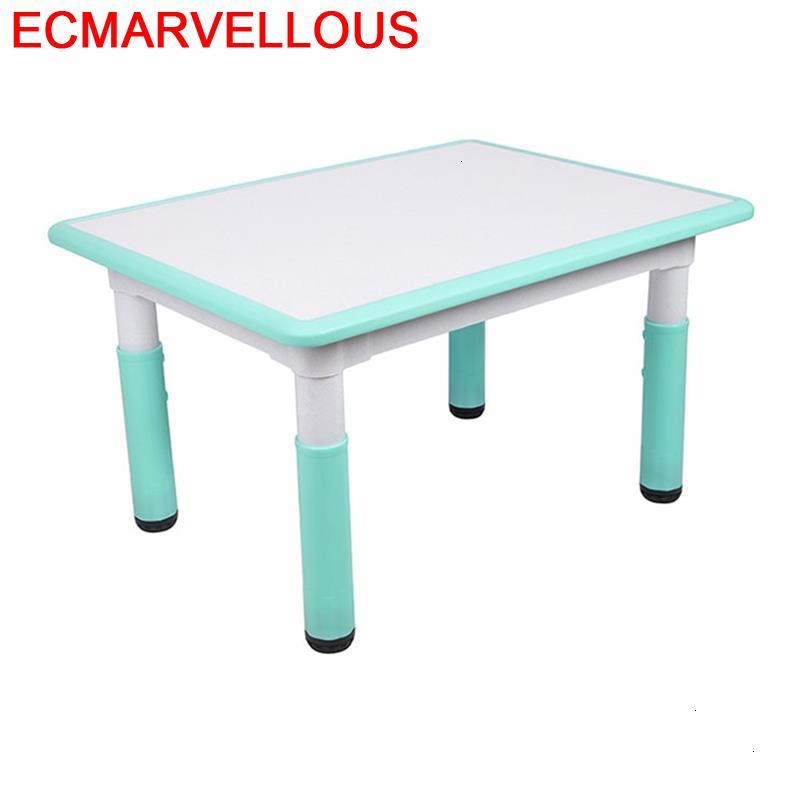 Avec Chaise Child Stolik Dla Dzieci Baby Mesinha Kids Study Play Kindergarten Mesa Infantil Kinder Bureau Enfant Children Table
