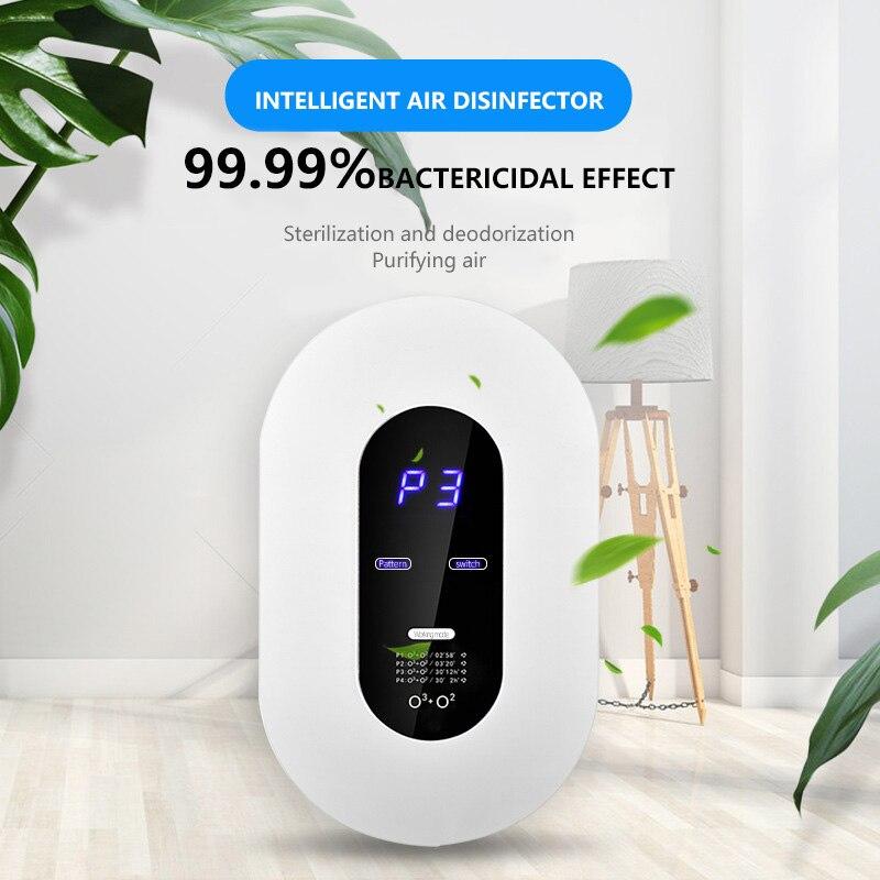 Smart Formaldehyde Deaerator Air Purifier Household Ozone Machine Kitchen Toilet Toilet Deodorant Deodorizer Deformaldehyde