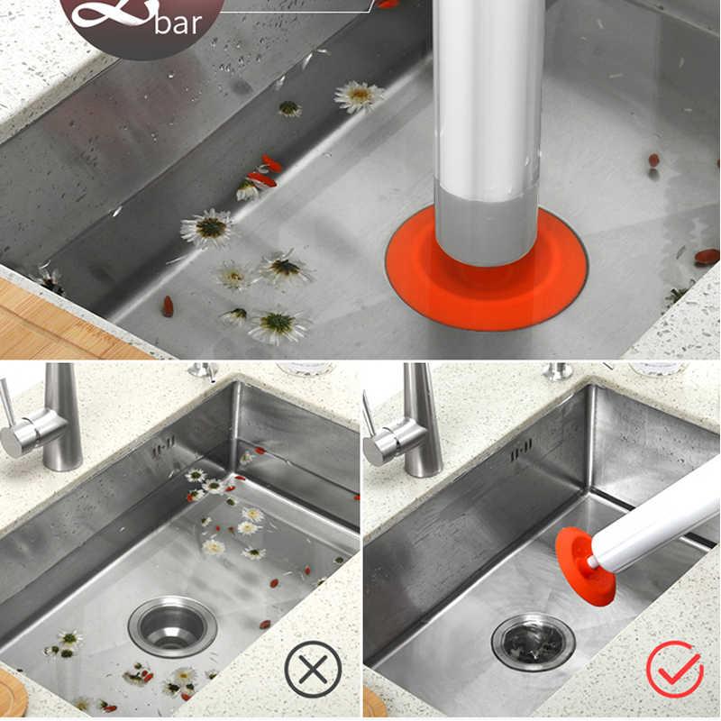 Bad Hochdruck Luft Drain Blaster Pistole Starke Toilette Kolben Auger Reiniger Leistungsstarke sanitär werkzeuge