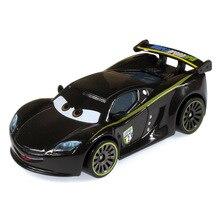 Disney Pixar Cars 2 Cars 3 Lightning McQueen, Jackson Storm, véhicule Ramirez en alliage métallique, jouet pour enfant, cadeau de noël