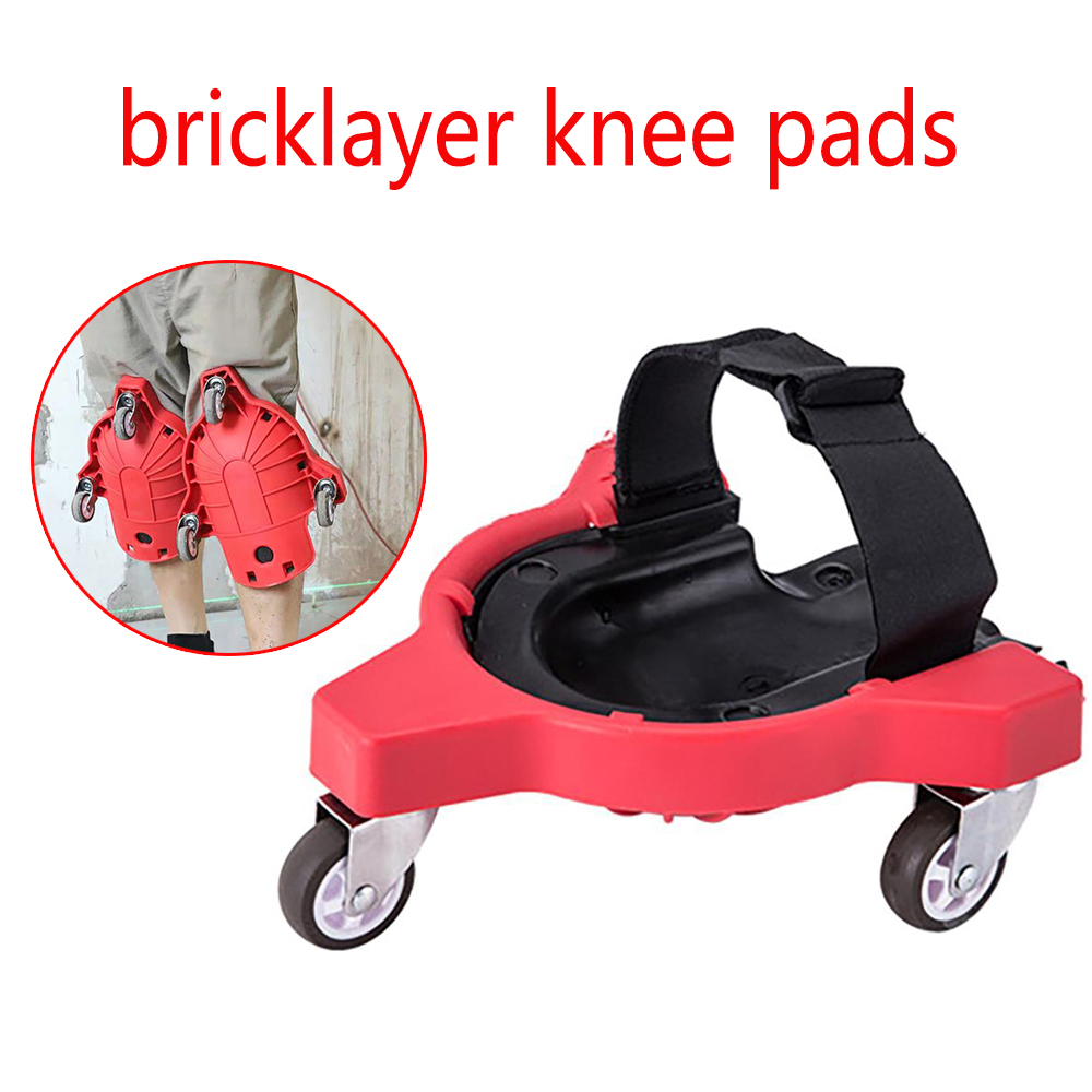 1/2pcs Bricklayer Knee Pads Tiling Floor Tile Tools Labor Mat Work Knee Pads Construction Worker Bricklayer Welder Knee Pads