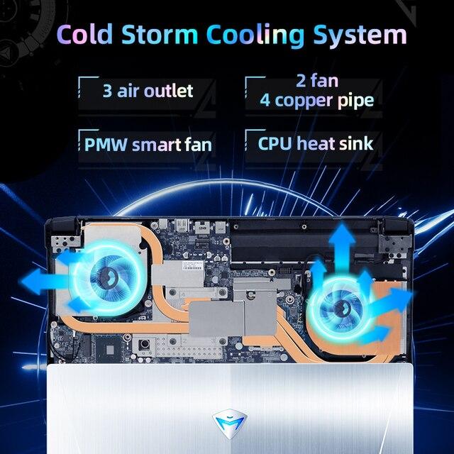 World Premiere Machenike T58-V 11th intel Core i7 Gaming Laptop i7 11800H RTX 3050 Laptops 144Hz Notebook Computer Windows 10 5