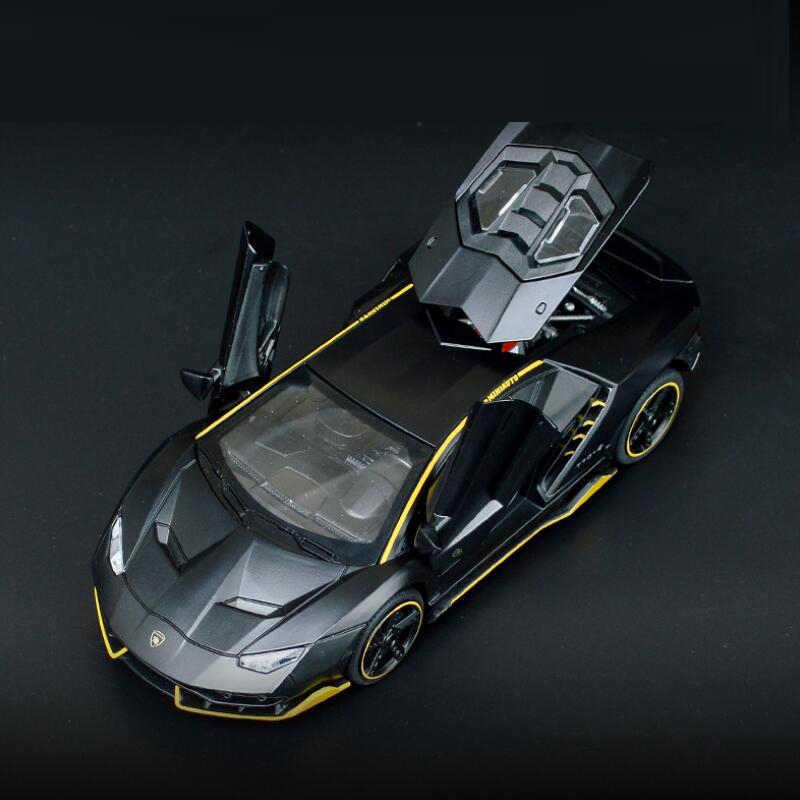 Initial 3224B-1 alliage métal moulé sous pression voitures modèle Inital jouet voiture véhicules RX7 retirer 1:32 lumière pour enfants garçon jouets