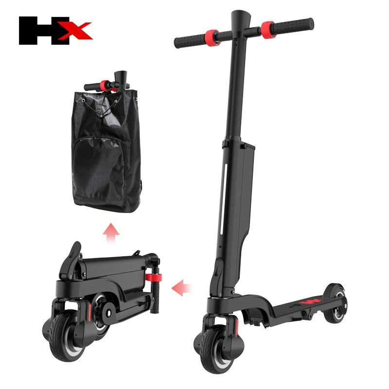 HX kick scooter smallest packing size save the shipping cost Bagpack Adult folding scooter Portable Folding Electric Scooter 1