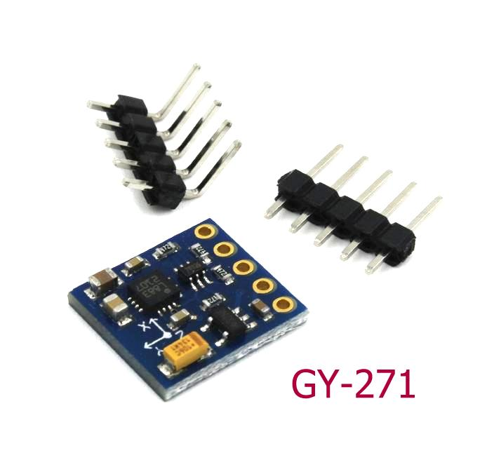 WYHP GY-271 HMC5883L 3-Axis Compass Magnetometer Sensor Module 3V-5V For