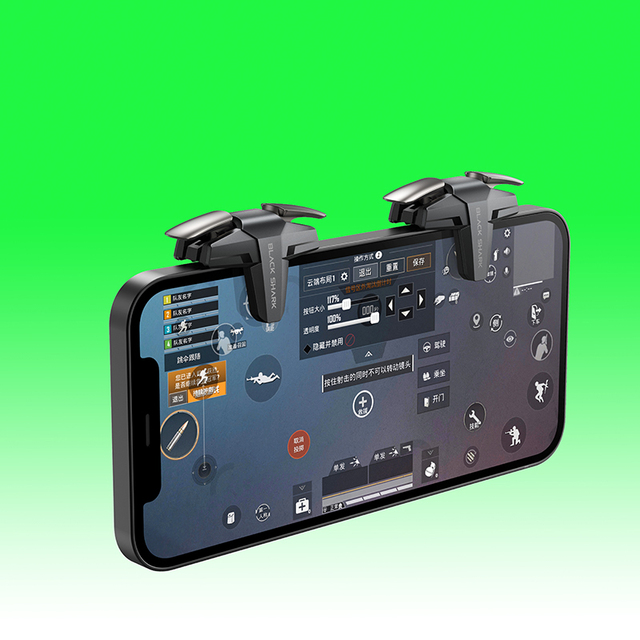 Black Shark Split Type Gaming Trigger Game Accessory PUGB COD LOL Phone GamePad 3