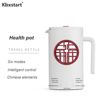 220V Multi function Health Pot Thick Borosilicate Glass Electric Kettle Chinese Style Household Teapot Office Liquid Heater|Electric Kettles|   -