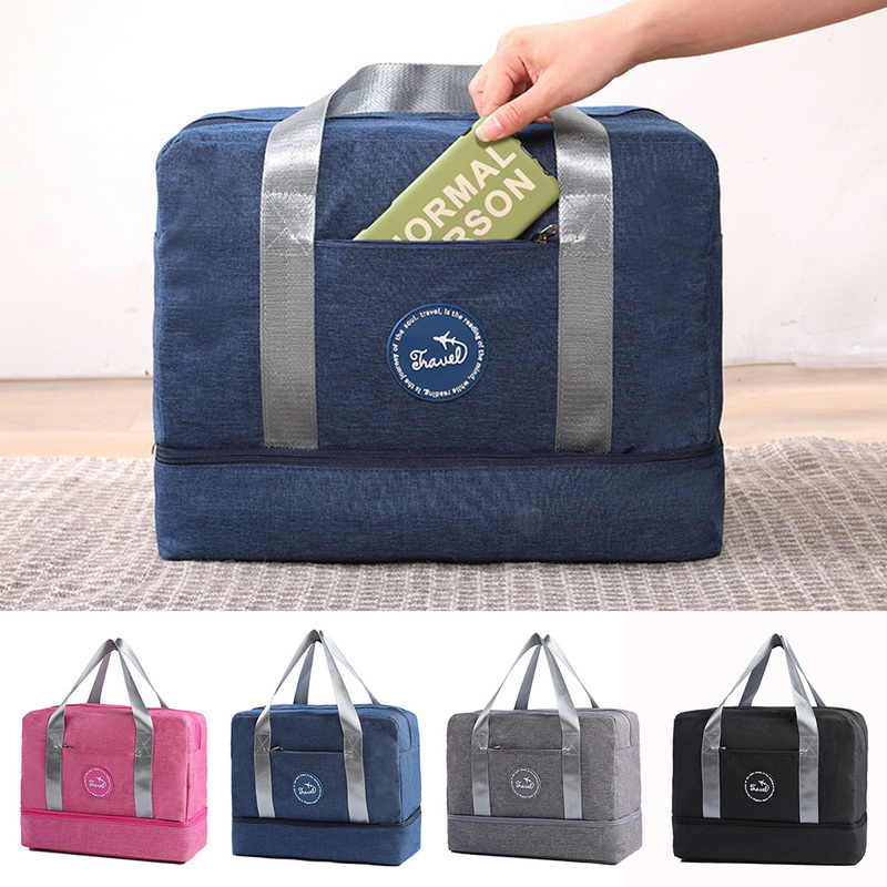 Travel Bag Organizer Coneed For Seasons Ravel Oxford Bag Man Women Packing Cubes Carry On Luggage Separation Storage Bag