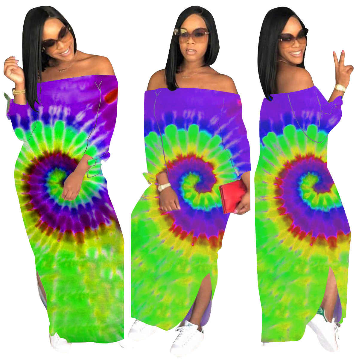 Afrika Nationalen Stil Print Kleid Frau Sommer Retro Kurzarm Dashiki Riche Bazin S-3XL Afrikanische Kleidung für ALS125