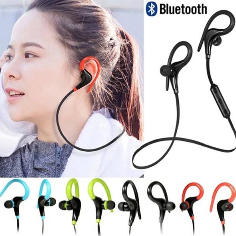 Mini Sport Wireless Bluetooth Earphone Handsfree Call Stereo Headset With Mic Ear-hook Sports Earphones For IPhone XR