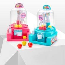 Children Mini Simulation Catching Ball Machine Candy Catcher Manual Grabber Educational Toys For Boys Girls E65D