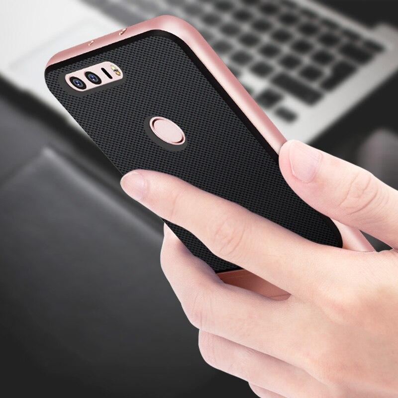 Luxury Phone Back Cover untuk Huawei Honor 8 Kasus Gaya Buku Berdiri - Aksesori dan suku cadang ponsel - Foto 5