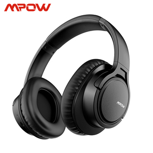 Mpow H7 Wireless/Wired Headphones Bluetooth Headset with Microphone For Tablet TV PC Mobile phones With Soft Protein Earpads(China)
