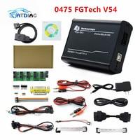 2021 de 0475 FGTech V54 Galletto 4 Chip completo apoyo BDM función completa Fg Tech V54 caja de sintonización con Chip ECU para automóvil