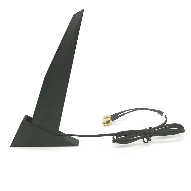 Двухдиапазонная Антенна для сетевой карты Asus 2T2R, повторитель Wi-Fi, усилитель Intel AX200 9260NGW AX210 9560NGW Z390, материнская плата