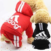 Одежда для домашних животных спортивный костюм собаки комбинезон