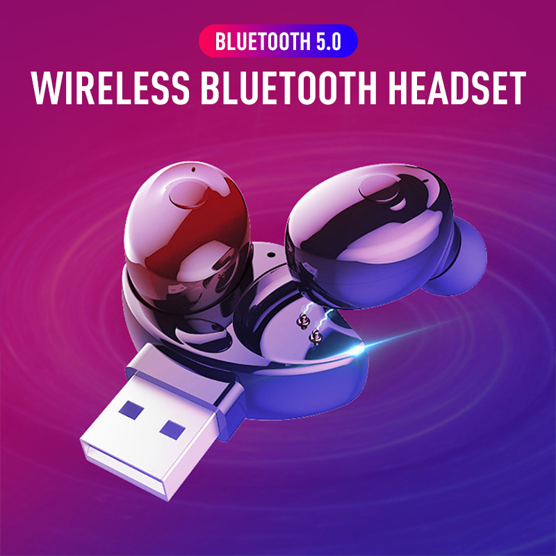 Мини Bluetooth наушники XG12, Bluetooth-гарнитура, беспроводные наушники-вкладыши, гарнитура Hands-free для телефонов, автомобильного ТВ, спортивные стерео...